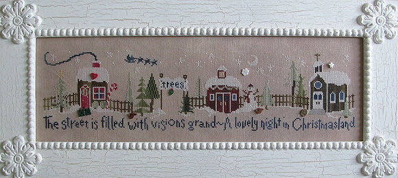 CATS Christmasland Chart by Raise the Roof Designs