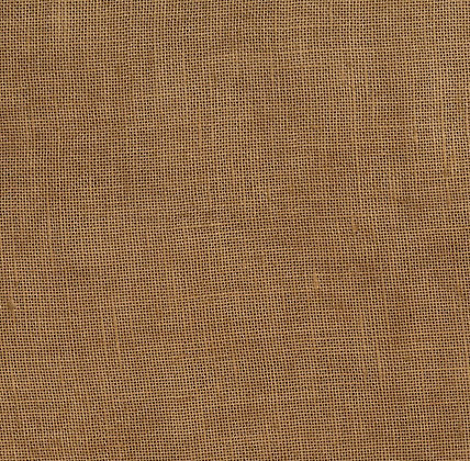 32 Count Dark Golden Brown Fat Quarter Hand-Dyed Linen by xJudesign