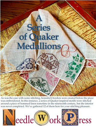 OVERSTOCK A Series of Quaker Medallions by Needlework Press