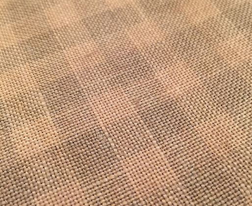 28 Count Straw Gingham 1/8 yard cut Hand-Dyed Linen by Weeks Dye Works