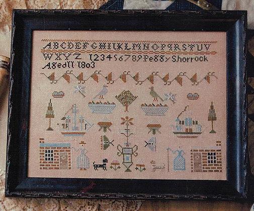 Peggy Shorrock 1803 by Plum Street Samplers