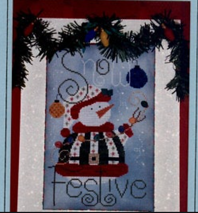 CATS Snow Festive by Little River Designs