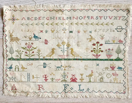 Anna Rossi 1857 by Samplers Forever