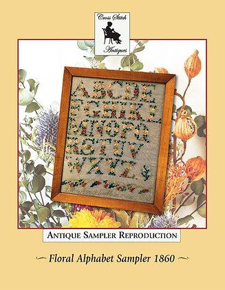 Floral Alphabet by Cross Stitch Antiques