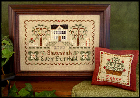 CATS Dear Diary: Lucy Fairchild by Little House Needleworks