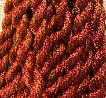 Copper 6-yards, 12-stranded Silk Floss by Gloriana