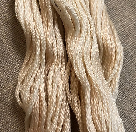 Eggshell Classic Colorworks Cotton Threads 5-yard Skein