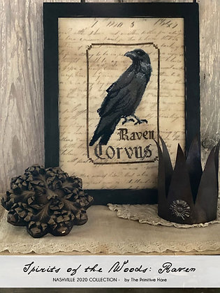 NASH-STASH Spirits of the Woods: Raven by The Primitive Hare