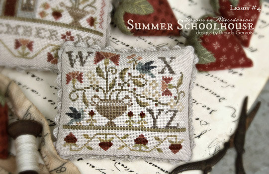 Summer Schoolhouse Lesson Four by With Thy Needle & Thread