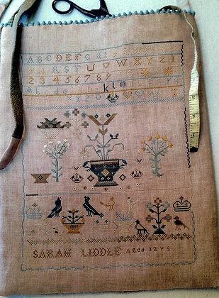 Sarah Liddle Sampler Bag by Stacy Nash Primitives