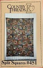 CATS Split Squares by Country Threads (Quilt Pattern)
