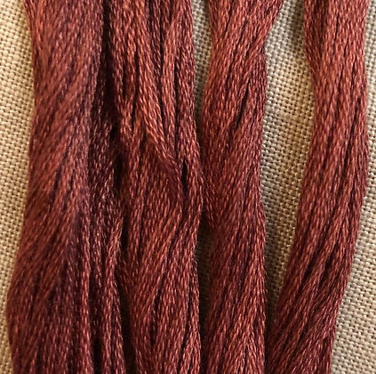 Used Brick Classic Colorworks Cotton Threads 5-yard Skein