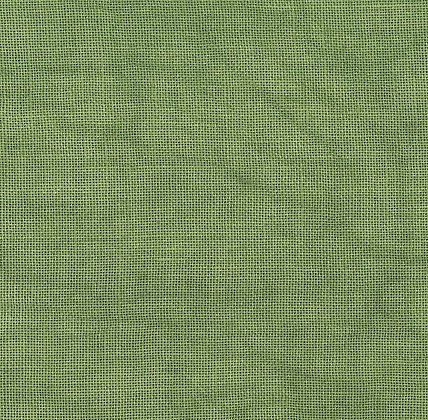 36 Count Sampler Green Fat Quarter Hand-Dyed Linen by xJudesign