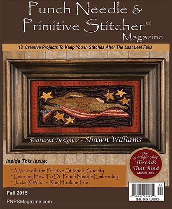 Fall 2015 Punch Needle & Primitive Stitcher Magazine