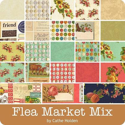 Flea Market Mix Fat Quarter Bundle by Cathe Holden