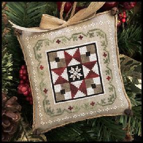 Farmhouse Christmas: Grandma's Quilt by Little House Needleworks