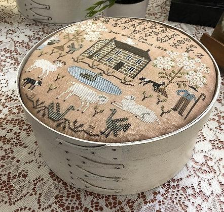 White Oak Shaker Box by Lone Elm Lane