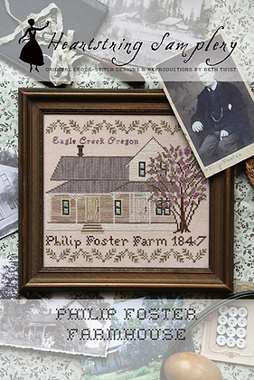 Philip Foster Farmhouse by Heartstring Samplery
