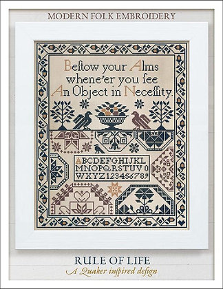 Rule of Life by Modern Folk Embroidery