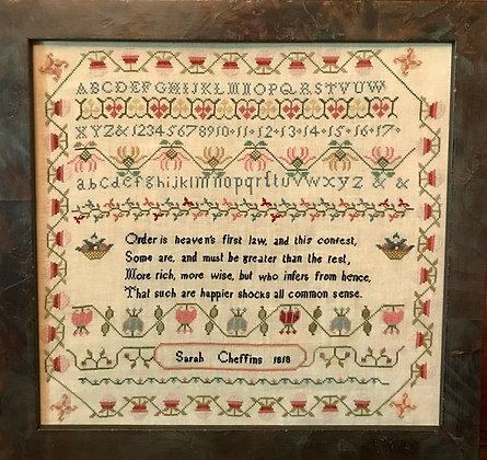 Sarah Cheffins 1818 by Merry Wind Farm