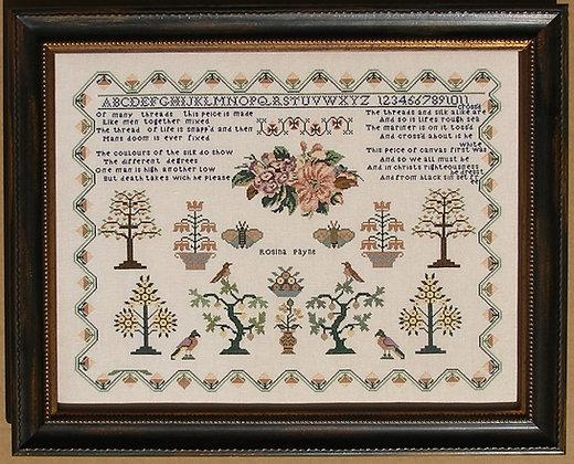 Rosina Payne c. 1834 by Queenstown Sampler Designs