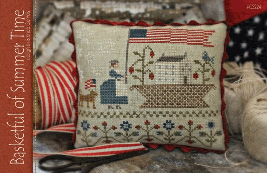 Basketful of Summer Time by With Thy Needle & Thread