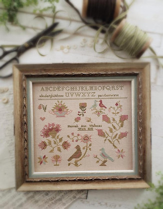 Hannah Ann Wallace 1850 by With Thy Needle & Thread