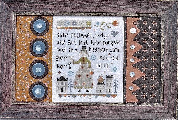 Fair Philomel by Barbara Ana Designs