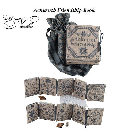 Ackworth Friendship Book by With My Needle
