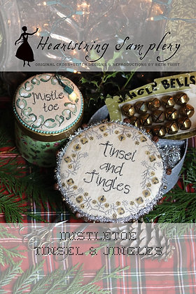 Tinsel and Jingles by Heartstring Samplery