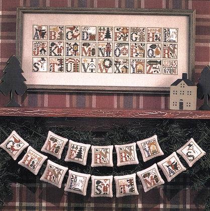 Christmas Alphabet by The Prairie Schooler