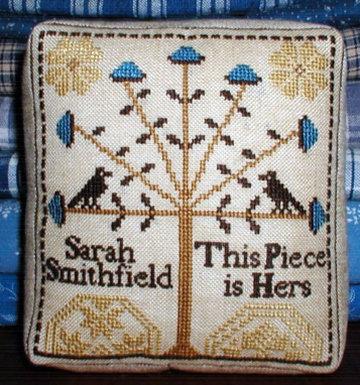 *A Quaker Pincushion by Carriage House Samplings