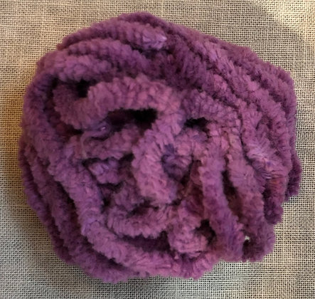 Grape Fizz Hand-Dyed Chenille Trim 3-Yard Packet by Lady Dot Create