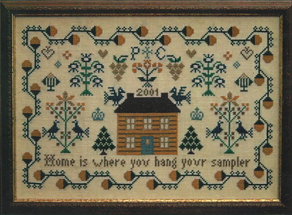 Home is Where You Hang Your Sampler by PLC Traditional Samplers