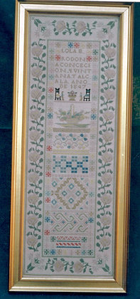 Lola B. Rodon 1847 A Mexican Sampler by Threads of Gold