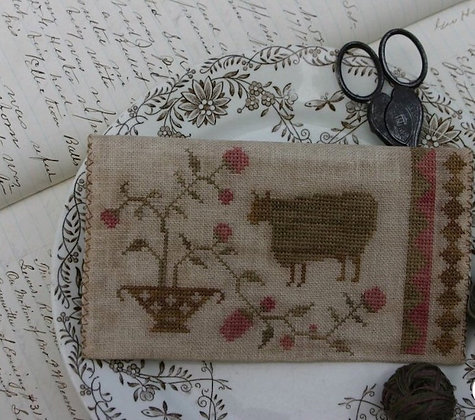 *O Sheep Sewing Pouch by Stacy Nash