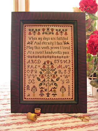 A Handwork's Pace by Plum Street Samplers