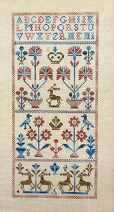 Five Deer by Queenstown Sampler Designs
