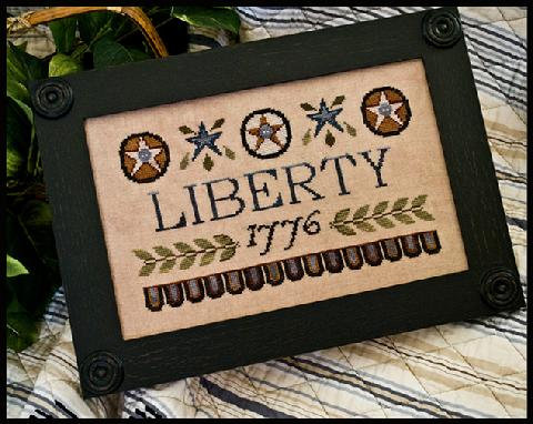 Liberty 1776 by Little House Needleworks