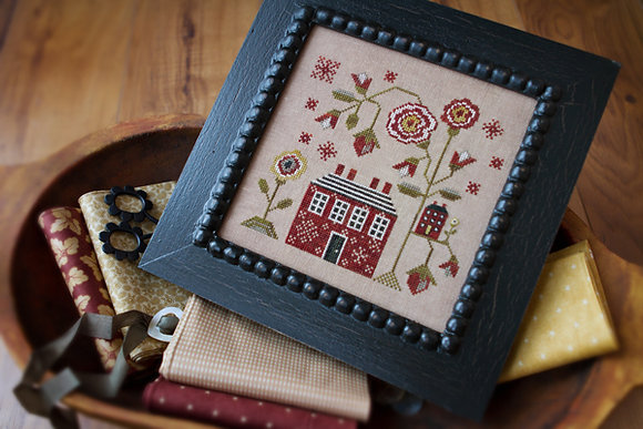 *A Red Cottage by Plum Street Samplers