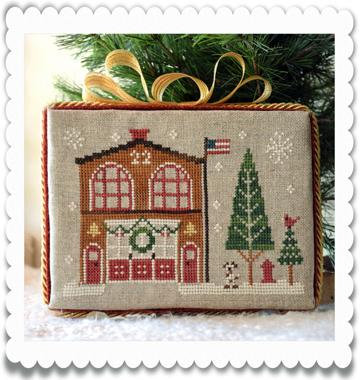 Firehouse (Home Town Holiday) by Little House Needleworks/Cl