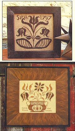 Sarah's Work 1797 & 1806 by Carriage House Samplings