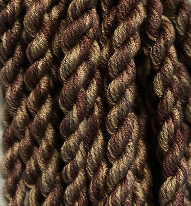 Black Walnut 6-yards, 12-stranded Silk Floss by Gloriana
