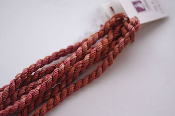 Rusty Amber Silk N Colors by The Thread Gatherer