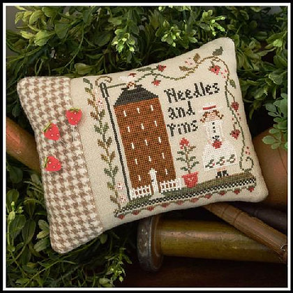 Keeper of the Pins by Little House Needleworks