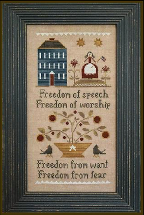 Four Freedoms by Little House Needleworks