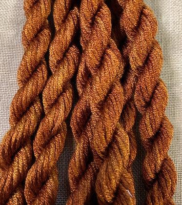 Antique Gold, Dark Gloriana 12-Strand Silk 6 Yards