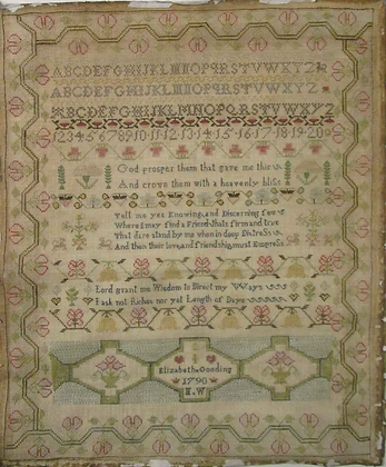 Elizabeth Gooding by The Scarlet Letter