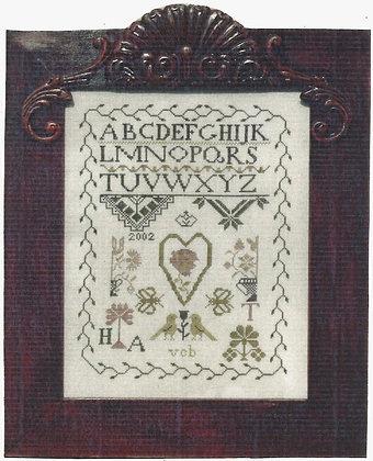 Quaker Heart by Exemplar Dames Design Co.