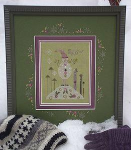 CATS Green Snowman KIT by Shepherd's Bush